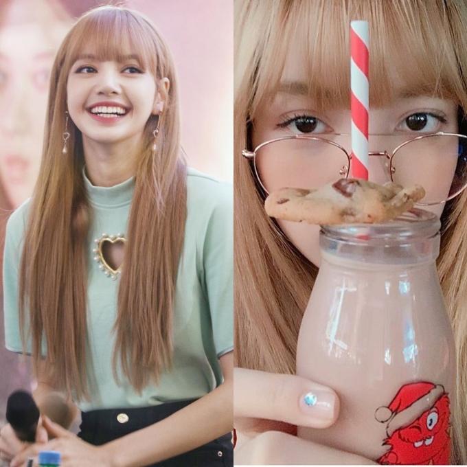 """<p> Kiểu kính mắt bản to giúp Lisa """"hạ gục"""" fan. Mỹ nhân Thái Lan được nhiều người nhận xét dù đeo kính hay không vẫn trông xinh đẹp, cuốn hút ngang nhau.</p>"""