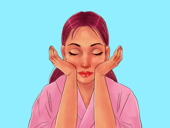 <p> <strong>Bước 7: Nâng xương gò má</strong><br /> Sử dụng lòng bàn tay và ấn vào phần má (ngay dưới xương gò má) rồi nâng nhẹ lên, giữ khoảng 10 giây. Thực hiện 6 lần liên tiếp.</p>