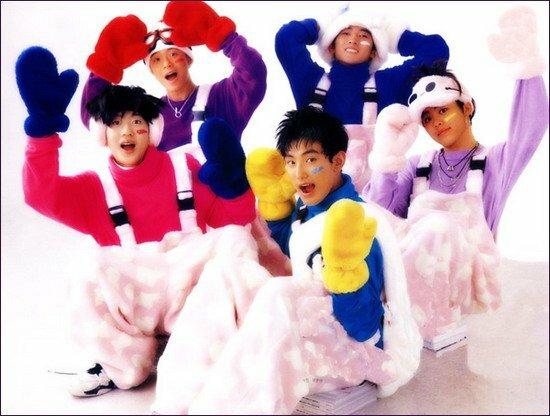 H.O.T thời kỳ quảng bá Candy - ca khúc được cho là bài hát quốc dân năm 1996.