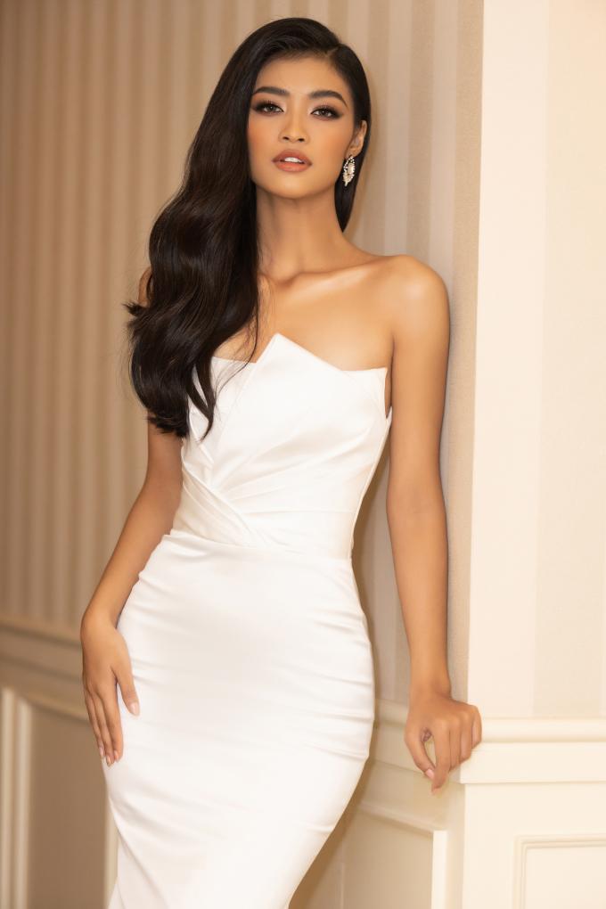 <p> Người đẹp gốc Quảng Nam đang chuẩn bị tham dự Hoa hậu Hòa bình Thế giới.</p>