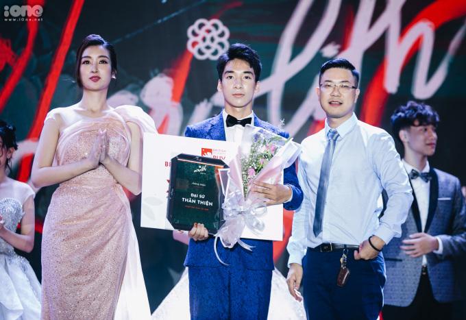 <p> Trần Quang Huy - Đại sứ Thân thiện.</p>