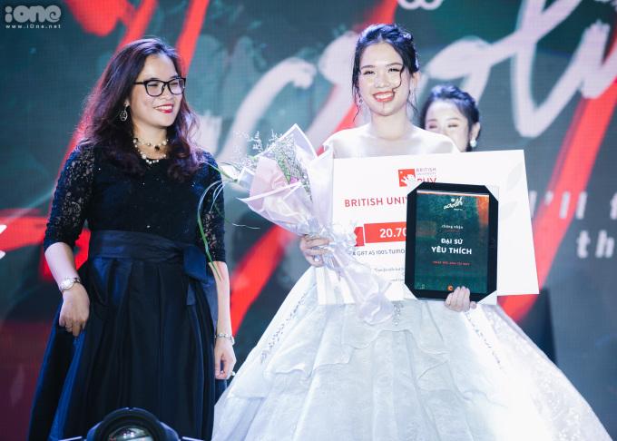 <p> Nguyễn Hương Mai - Đại sứ được yêu thích nhất.</p>