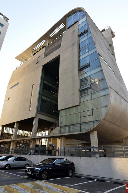 Trụ sở YG ở khu Hapjeong-dong, quận Mapo, Seoul.