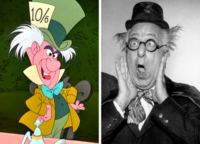 <p> <strong>The Mad Hatter - Ed Wynn</strong></p> <p> Mad Hatter là một trong những nhân vật đặc biệt và độc đáo nhất của <em>Alice ở xứ sở thần tiên</em>. Trong phim, Hatter được mô phỏng dựa trên cử chỉ, ngoại hình và tính cách của nam diễn viên Ed Wynn. Ông cũng chính là người lồng tiếng cho nhân vật.</p>