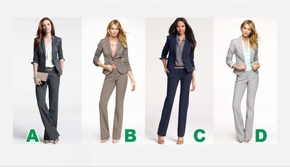 Phân tích ưu nhược điểm của bạn qua bộ vest công sở