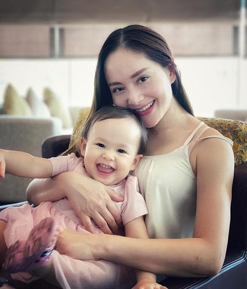 Lan Phương khoe con gái 16 tháng tuổi.