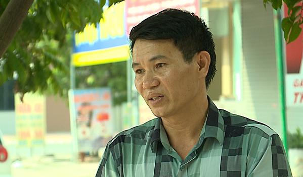 Tài xế Nguyễn Công Tỵ.