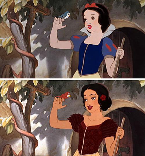 Nàng Bạch Tuyết - Snow White.