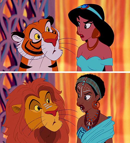 Aladdin và Cây đèn thần - Công chúa Jasmine.