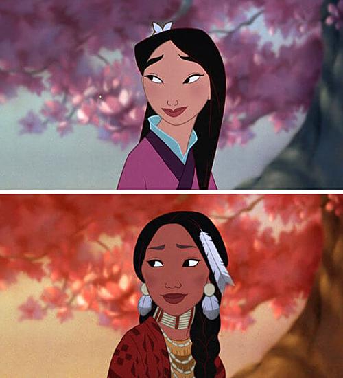 Hoa Mộc Lan - Mulan.