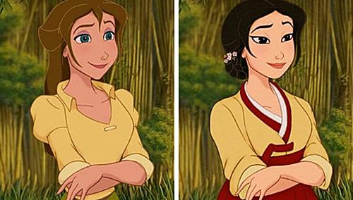 Bạn gái Tarzan - Jane Porter.