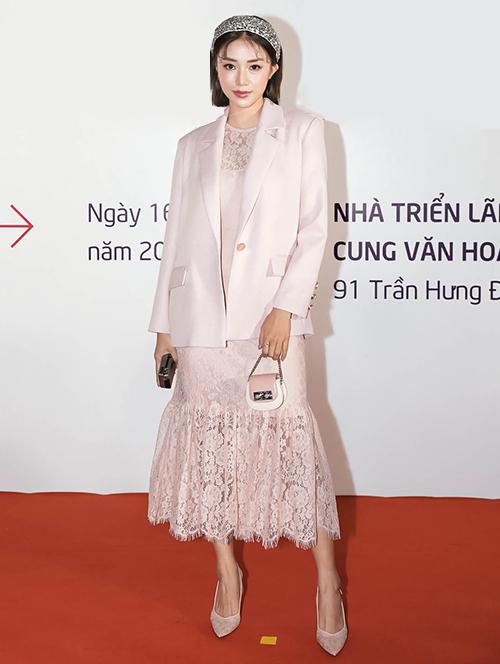 Hot girl Sa Lim mang phong cách quý tộc khác biệt lên thảm đỏ.
