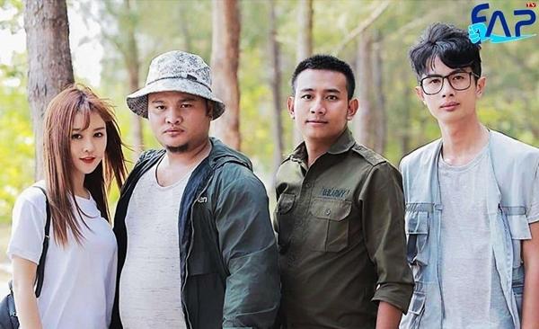Các thành viên chủ chốt của nhóm hài FAPTV.