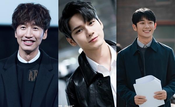 Lee Kwang Soo, Ong Seong Woo và Jung Hae In.