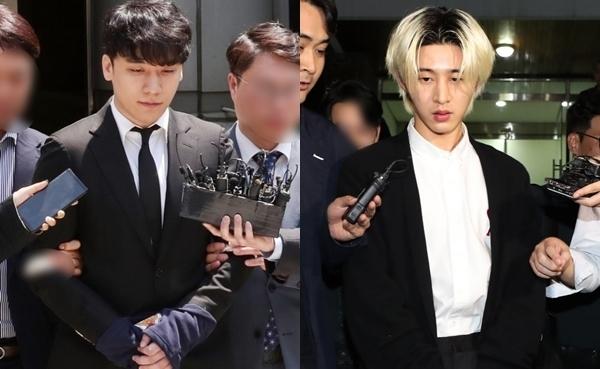 Seung Ri (trái) và B.I.