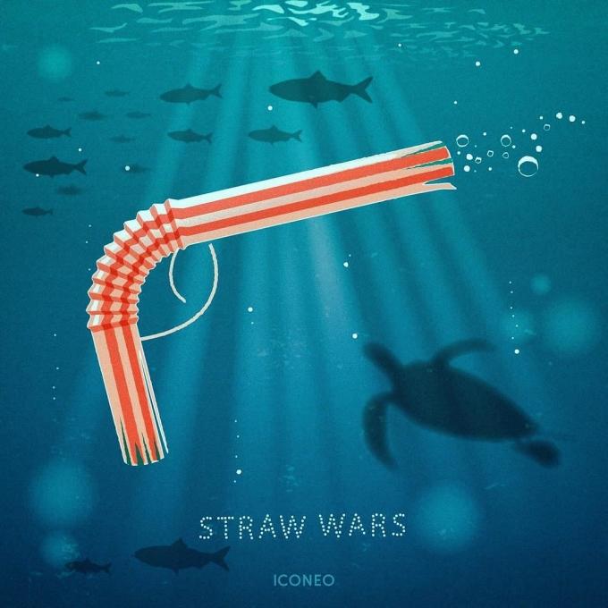 <p> Dự báo đến năm 2050, các loài cá biển sẽ bị xâm chiếm bởi rác thải nhựa. Những chiếc ống hút nhỏ bé tiện dụng mà bạn đang dùng hàng ngày có thể thành vũ khí giết chết sinh vật biển.</p>