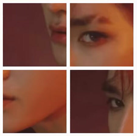 Trộn 4 mảnh ghép lộn xộn, bạn có biết đó là idol Kpop nào? (8) - 8