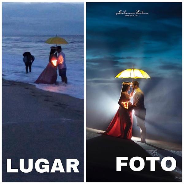 Nếu không thể phát sáng tự nhiên, hãy để những chiếc đèn nhân tạo cùng tài chỉnh sửa ảnh tài tình của nhiếp ảnh giagiúp bạn.