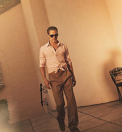 Bộ ảnh của Brad Pitt trên tạp chí GQ - 6