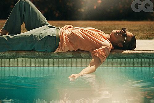 Bộ ảnh của Brad Pitt trên tạp chí GQ - 7