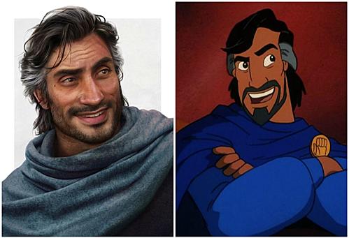 Cassim, cha của Aladdin.
