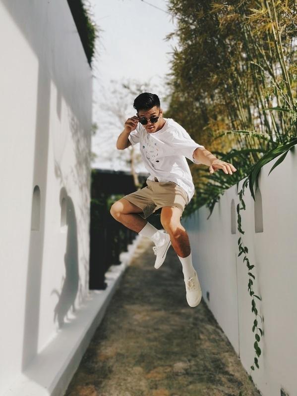 Trọng Hiếu đã nhảy hơn 10 năm và từng là quán quân các cuộc thi nhảy tại Đức.