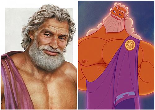 Thần Zeus.