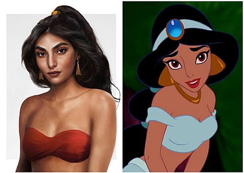 Công chúa Jasmine.
