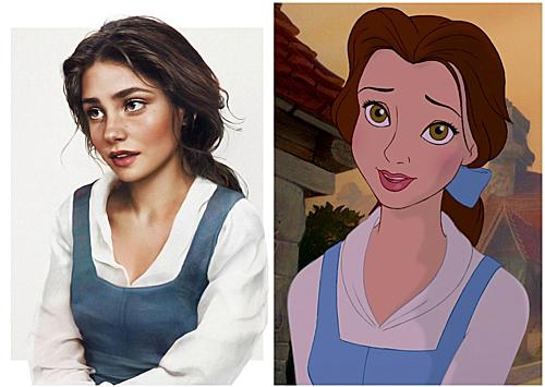 Belle trong Người đẹp và Quái vật.