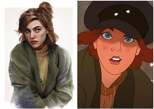 Anastasia trong bộ phim cùng tên.