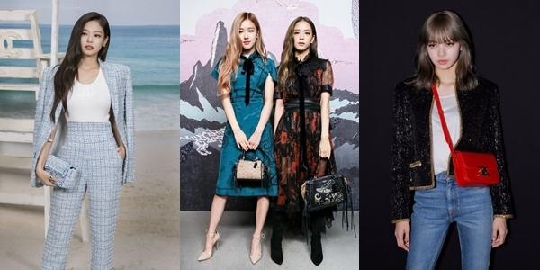Black Pink thường xuyên nhận được lời mời dự sự kiện thời trang quốc tế.