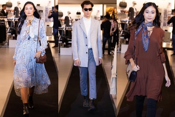 Sự kiện còn giới thiệu đến người xem 20 bộ trang phục trong bộ sưu tập Thu Đông 2019 với tên gọi Shared Moments.