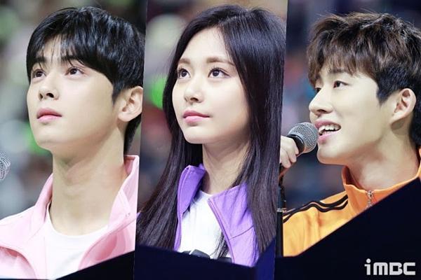 Cha Eun Woo đọ viusal cùng nữthần sắc đẹp Tzuyu (Twice)và B.I (cựu thành viên iKON).