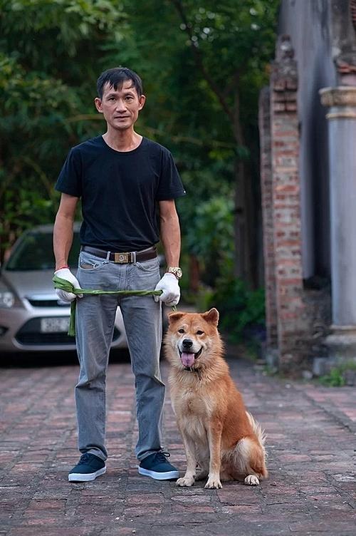 Chó Bắc Hà của Việt Nam cũng tham gia casting.