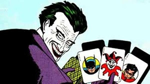 Joker trong truyện tranh của DC.