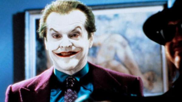 Joker đầu tiên trên màn ảnh do tài tử Jack Nicholson thủ vai.