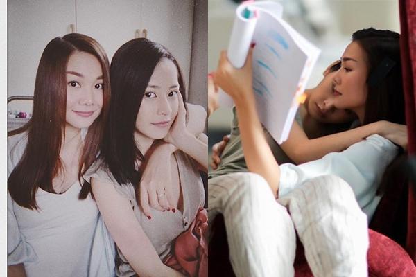 Chi Pu - Thanh Hằng thân thiết sau Chị chị em em.