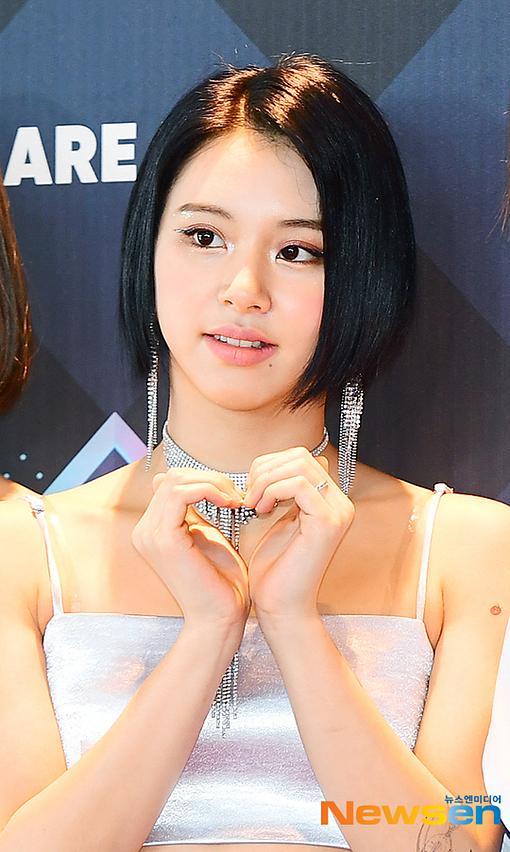 Chae Young có mái tóc ngắn cá tính.