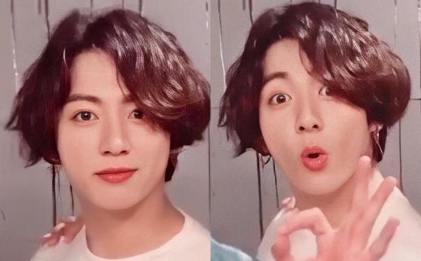 Trong video mới của BTS, Jung Kook vẫn để tóc dài.