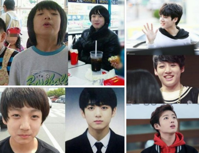 """<p> <strong>Jung Kook (BTS)</strong></p> <p class=""""Normal""""> Ra mắt năm 15 tuổi, Golden maknae của BTS sở hữu khuôn mặt búng ra sữa và chiều cao chỉ tầm các huynh Suga, V và Jimin.</p>"""