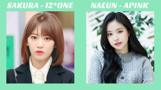 Idol Kpop nào ít tuổi hơn?
