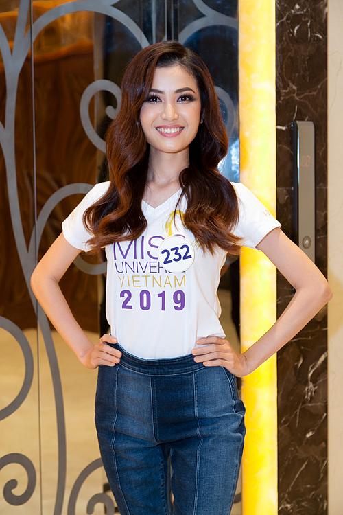 Hoàng Minh Trang đến từ Gia Lai hi vọng sẽ đăng quang hoa hậu.