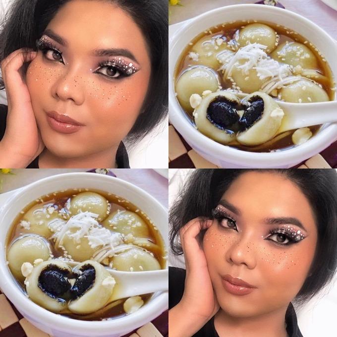 <p> Trong tương lai, cô gái 22 tuổi muốn thực hiện thêm các màn trang điểm lấy cảm hứng từ đồ ăn nước ngoài và danh lam thắng cảnh Việt Nam.</p>