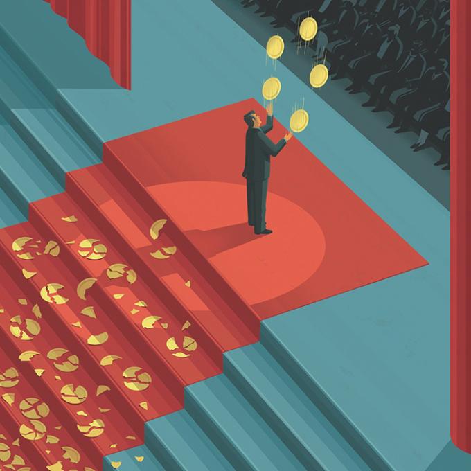 <p> Người khác chỉ nhìn thấy thành công của bạn, mà không biết bạn đã nỗ lực và hy sinh như thế nào. Vì vậy, khi bạn mắc sai lầm, họ sẽ ngay lập tức dùng mạng xã hội chỉ trích, bôi nhọ bạn. <em>Tranh: schmitz_illustration</em></p>