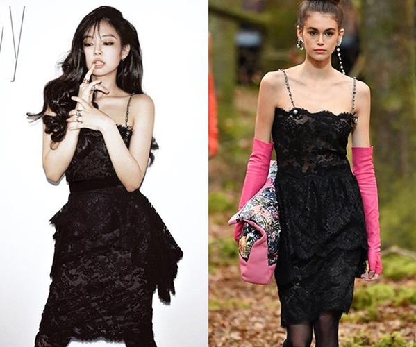 Jennie bị ví như mua đồ qua mạng khi so với mẫu Chanel - 4