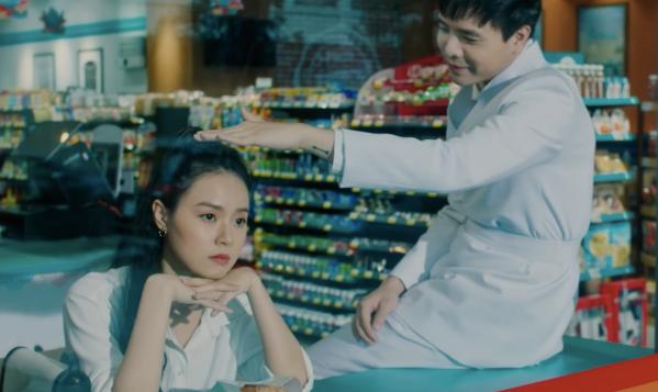 Midu - Trịnh Thăng Bình trong phim.