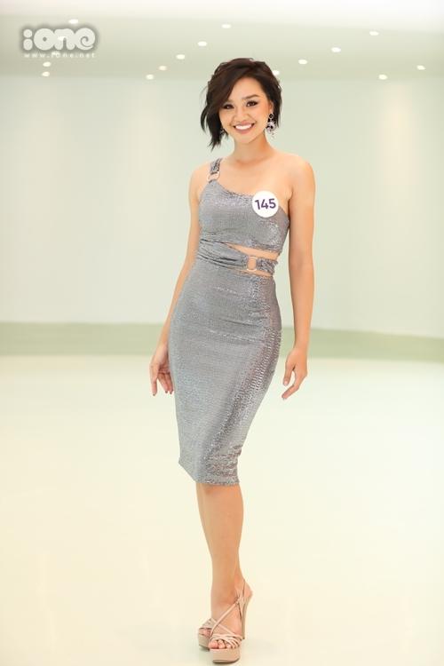 Lê Thu Trang quay trở lại Hoa hậu Hoàn vũ Việt Nam sau thành tích top 10 cách đây hai năm.