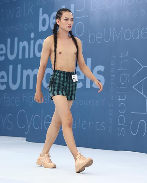 Trước khi tham dự chương trình người mẫu, thí sinh chuyển giới từng góp mặt trong vòng sơ khảo Hoa hậu Hoàn vũ Việt Nam 2019.