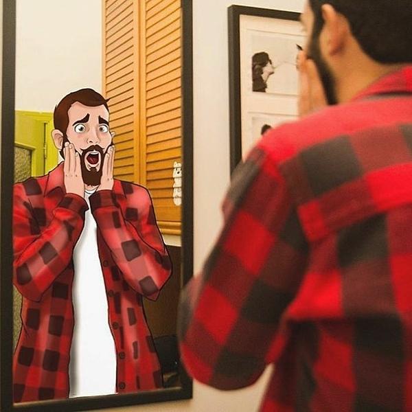 Một buổi sáng thức giấc bạn phát hiện mình có gương mặt giống hệt của hoàng tử.