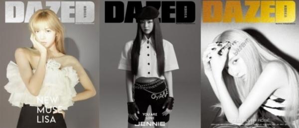Ji Soo là người duy nhất chưa chụp cho tạp chí Dazed.